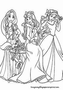 Colorear Princesas Disney Imagenes Y Dibujos Para Imprimir