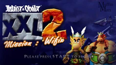 asterix obelix xxl  mission wifix psp gameplay hd youtube