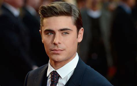 Male Celebrity Zac Efron   newhairstylesformen2014.com