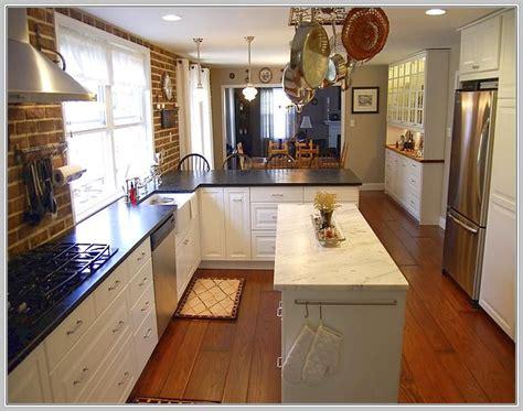 narrow island kitchen narrow kitchen island table home ideas 1033