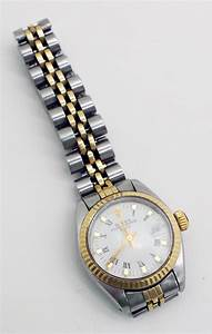 Rolex Oyster Perpetual Date Damenuhr Uhr Armbanduhr Gold