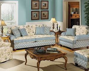 Carolines cottage living room colony house furniture for Cottage style furniture