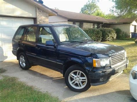 2002 Range Rover Hse by Purchase Used 2002 Land Rover Range Rover Hse Sport