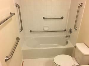 bathroom grab bars installation cost With handicap handrails for the bathroom