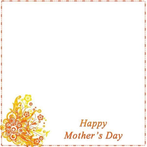 mothers day border   list   pink