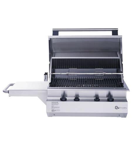 zgglbss ge monogram  outdoor cooking center   grill burners  rotisserie
