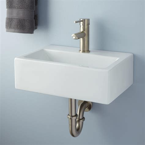 Wall Mount Sink by Tatum Porcelain Wall Mount Niche Sink Outdoor