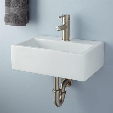 wall mounted basin sink tatum porcelain wall mount niche fountain sink outdoor
