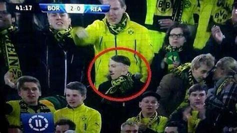Adolf Hitler Lookalike Spotted In Borussia Dortmund Crowd