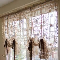 Wilkhes Global - Lace Balloon Shade Curtains