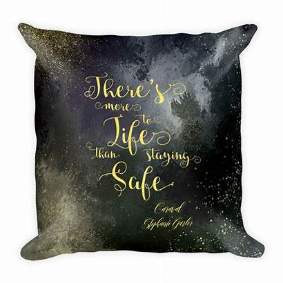 Caraval Safe Quote Quotes Staying Disney Pillows