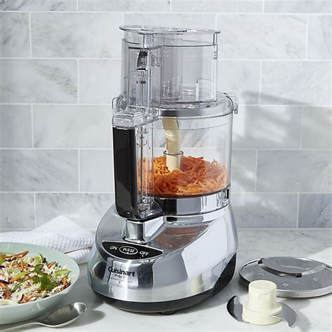 cuisinart home cuisine cuisinart 9 cup food processor crate and barrel