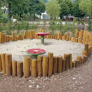 Kinderspielplatz Selber Bauen : 8 1 1 sandkasten aus palisaden sandkasten pinterest palisaden sandkasten und spielpl tze ~ Markanthonyermac.com Haus und Dekorationen