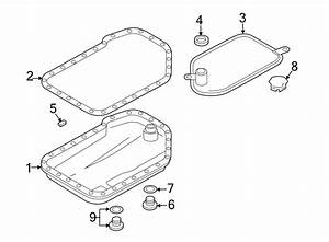 Audi A6 Automatic Transmission Oil Pan Gasket  Automatic
