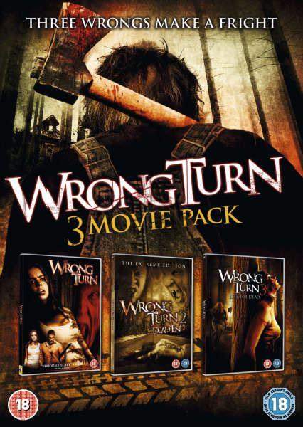 wrong turn trilogy dvd zavvi