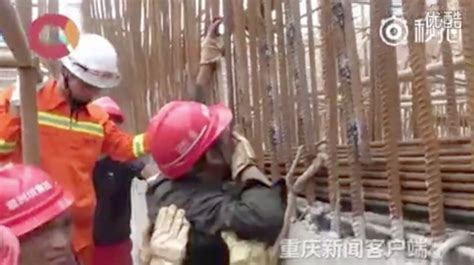 construction worker impales jaw  exposed rebar rtm