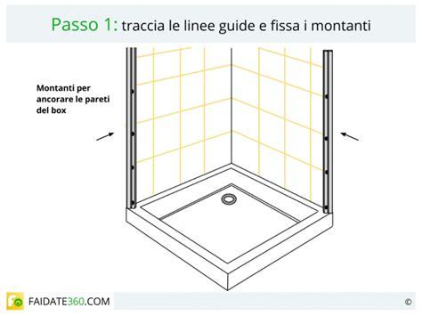 piatto doccia montaggio installare una doccia come montare piatto box colonna e