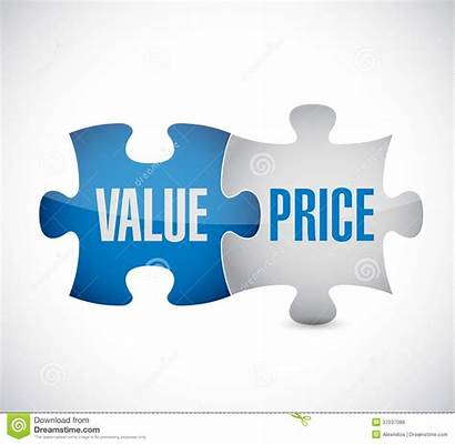 Value Illustration Puzzle Pieces Background Royalty