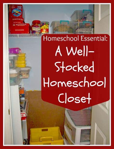 Homeschool Closet Organization Ideas by 5 Days Of Homeschooling Essentials A Well Stocked