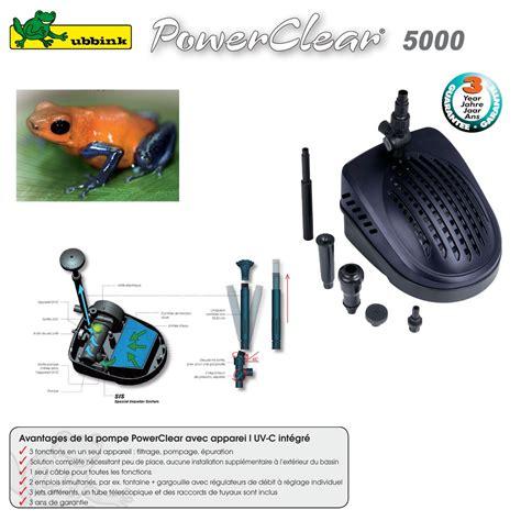 le uv pour bassin pompe pour bassin aquatique avec uv c powerclear 5000 1351320 ub