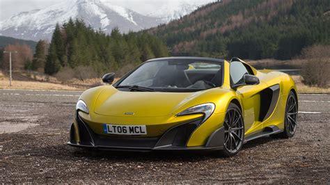 mclaren lt spider  review car magazine