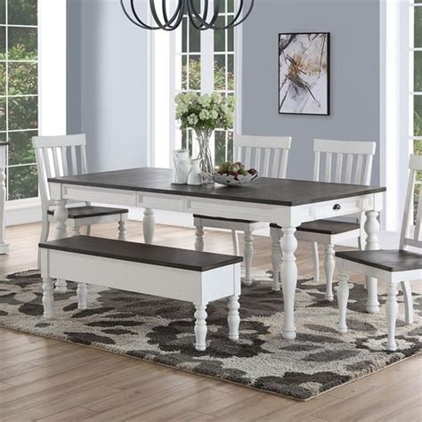 steve silver joanna dining room table  turned legs