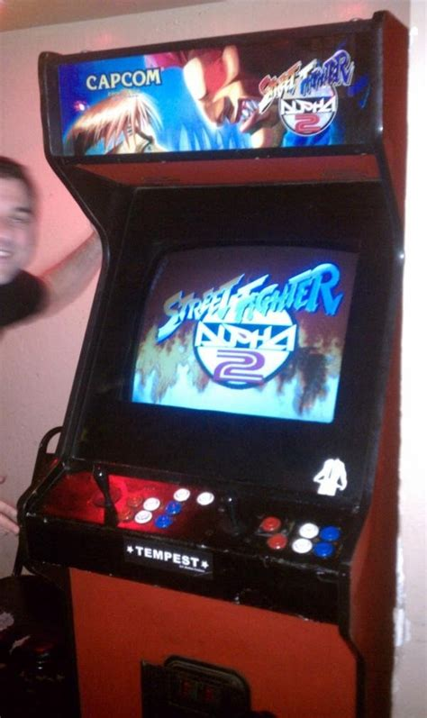 fighter arcade cabinet bloggerluv