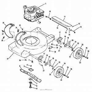 Honda Mower Engine Parts Diagram