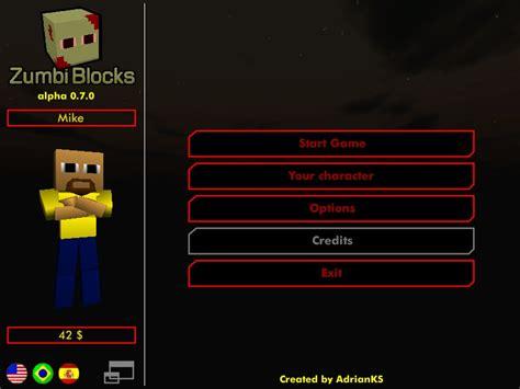 blocks minecraft 3d zumbi hacked game