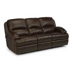 flexsteel 1242 62p fast lane leather power reclining sofa