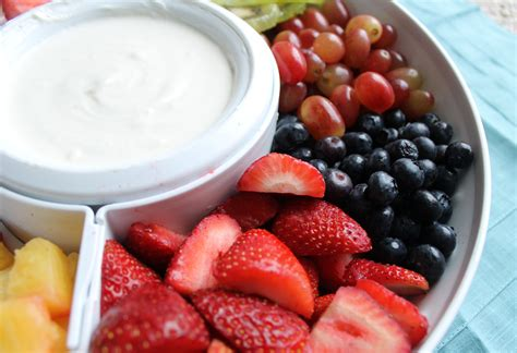 Marshmallow Fruit Dip Without Cream Cheese Desserts