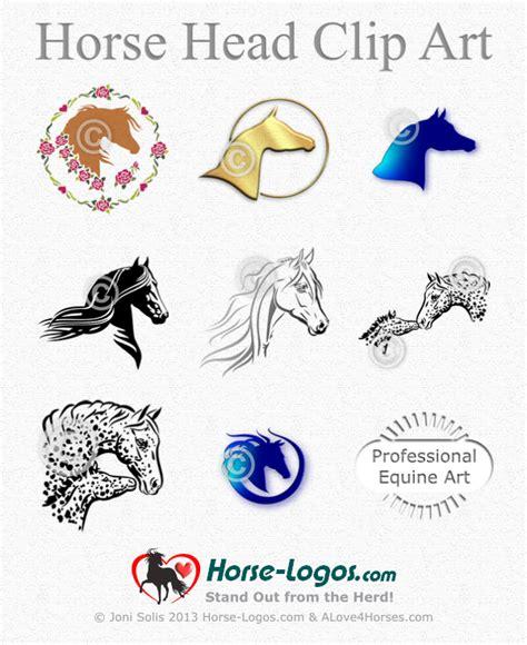 horse head clip art  joni solis  sale  horse logos