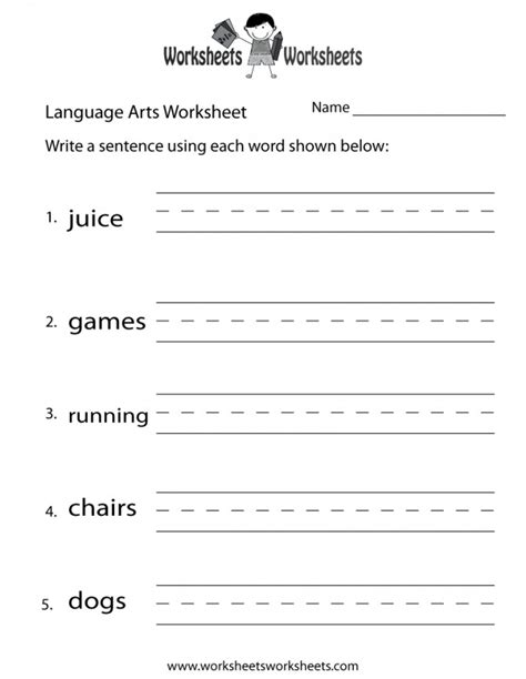 7th grade language arts worksheets homeschooldressage com