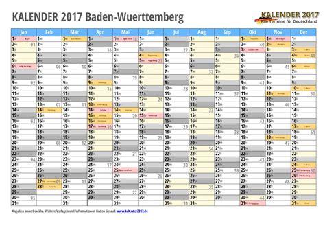 kalender baden wuerttemberg zum ausdrucken kalender