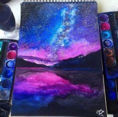 galaxy painting images backgrounds outer space