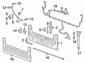 Gmc Sierra 1500 Tailgate Wiring Harness