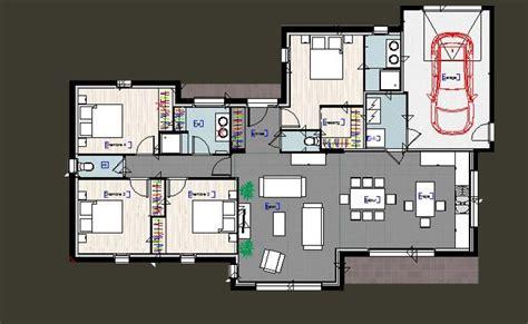 plan maison plain pied 3 chambres avec garage plan maison plain pied 3 chambres avec suite parentale et