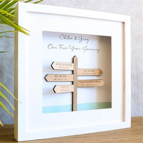 wedding anniversary gift guide wooden gift ideas