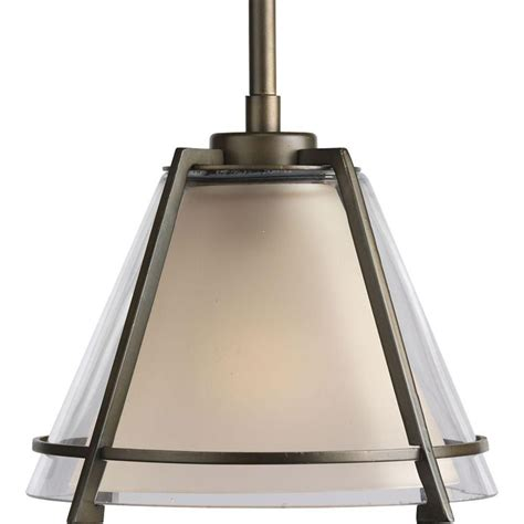 progress lighting rubbed bronze 1 light mini pendant