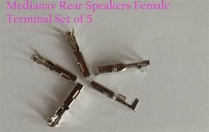 Medianav Rear Speakers Female Terminal Set Of 5