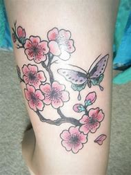 Best Cherry Blossom Tattoo Design Ideas And Images On Bing Find