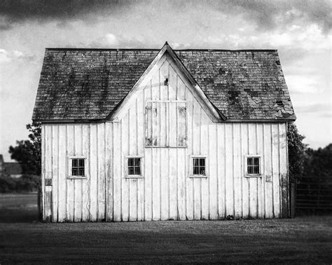 black and white barn black and white barn landscape photograph by lisa russo