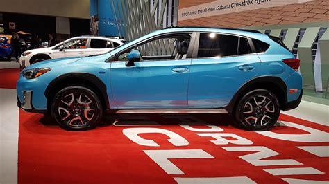 subaru phev 2020 la auto show 2018 subaru introduces its in