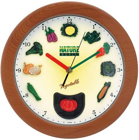 pendule design cuisine horloge cuisine