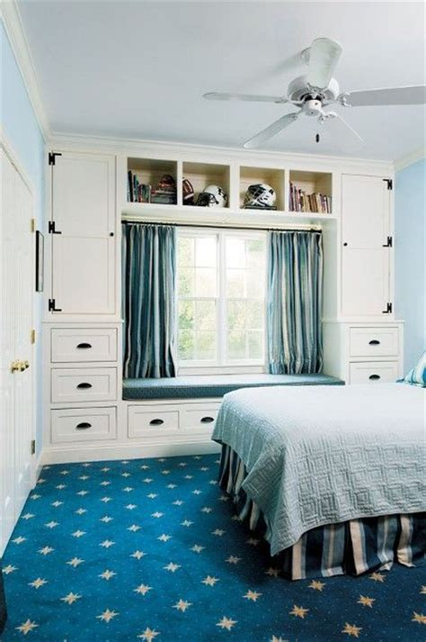 smart storage ideas for tiny bedrooms shelterness 25 smart storage ideas for tiny bedrooms shelterness 25 | 06 storage cabinets surrounding the window and a couple of open shelves