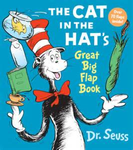 cat in the hat books the cat in the hat great big flap book dr seuss books