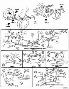 2004 Ford Taurus Exhaust System Diagram