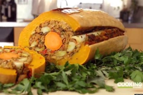 Veggieducken: The Vegetarian Turducken Your Thanksgiving Table Needs (VIDEO) | HuffPost