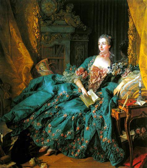 la femme boucher marquise de pompadour 1756
