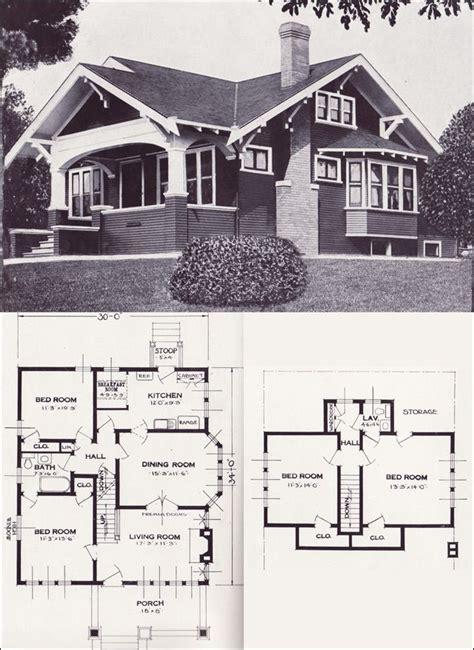 vintage house plan houses  architecture